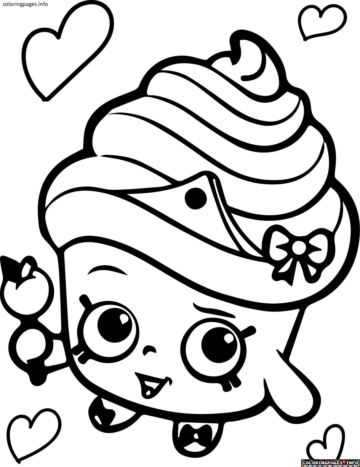 Pin By Brandi Mosca On Coloring Shopkins Colouring Pages