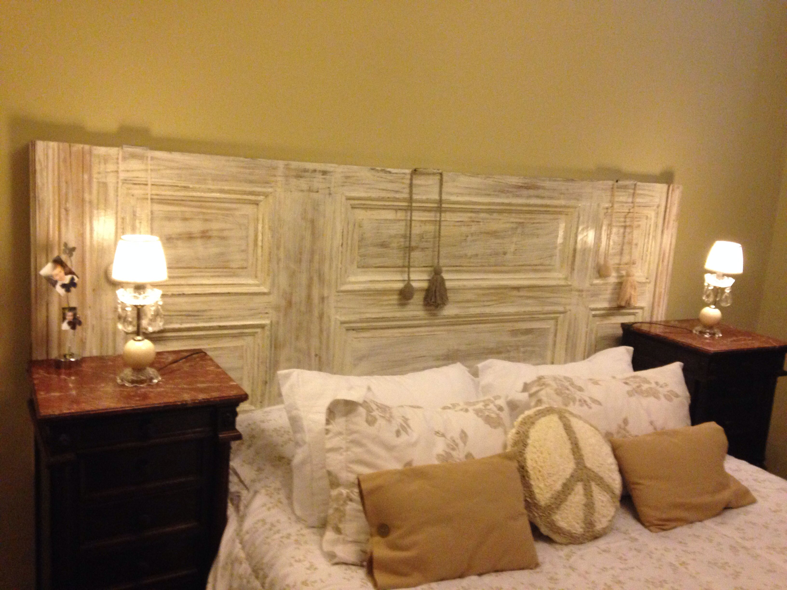 Respaldo De Cama Reciclado Respaldos De Cama Decoración De Cabecera Dormitorios Recámaras