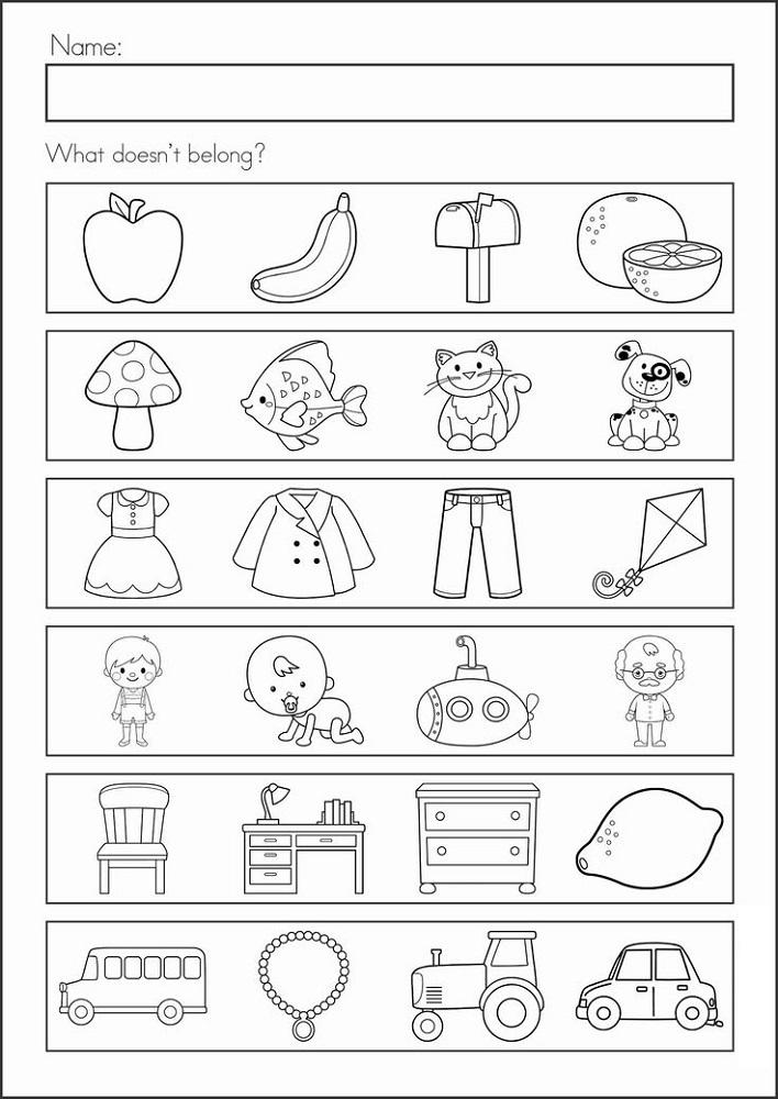 Prep Class Worksheets For Assessment Kindergarten Learning, Literacy  Worksheets, School Worksheets