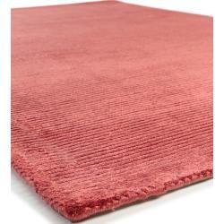 Photo of benuta Naturals viscose carpet Lines Red 200×290 cm – Modern carpet for living room benuta.de