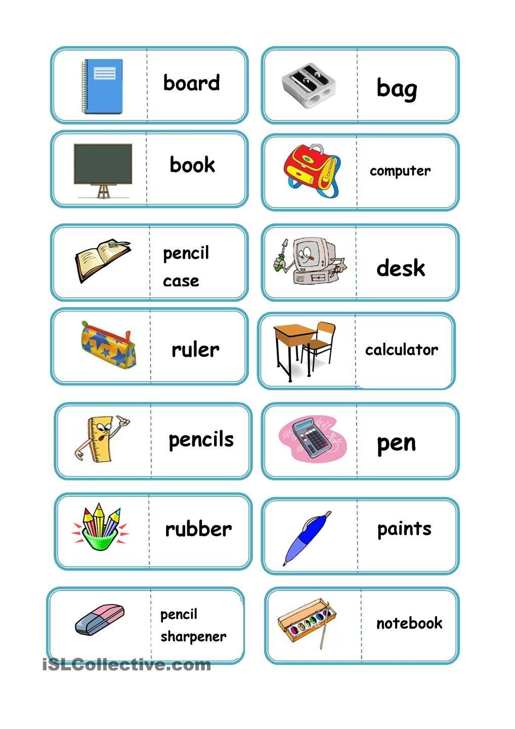 school domino | Games | Pinterest | School, English and Gaming