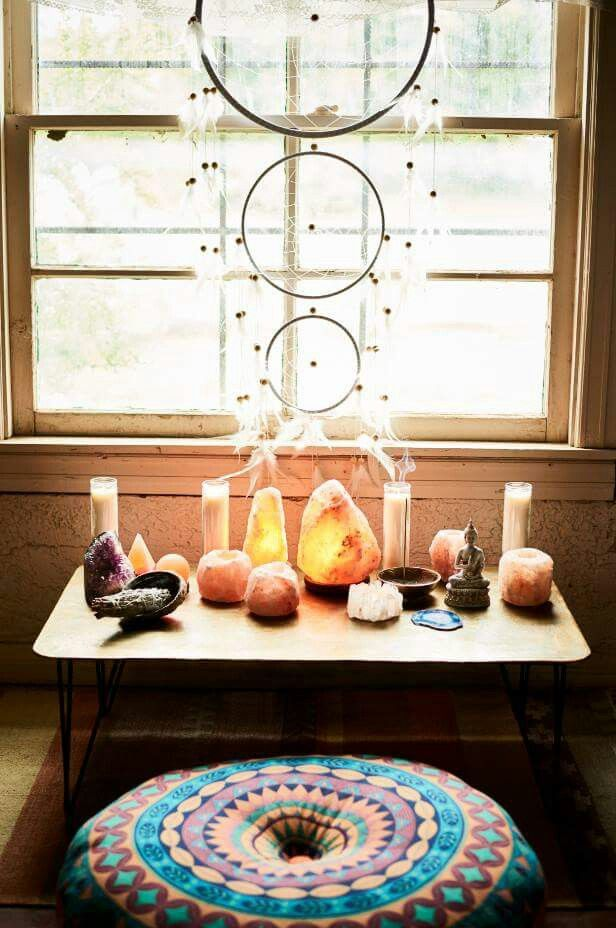 Earthbound Store   Yoga RoomsDreamcatchersLiving SpacesZen. Earthbound Store   Boho Home      Pinterest   Salts  Window and Lamps