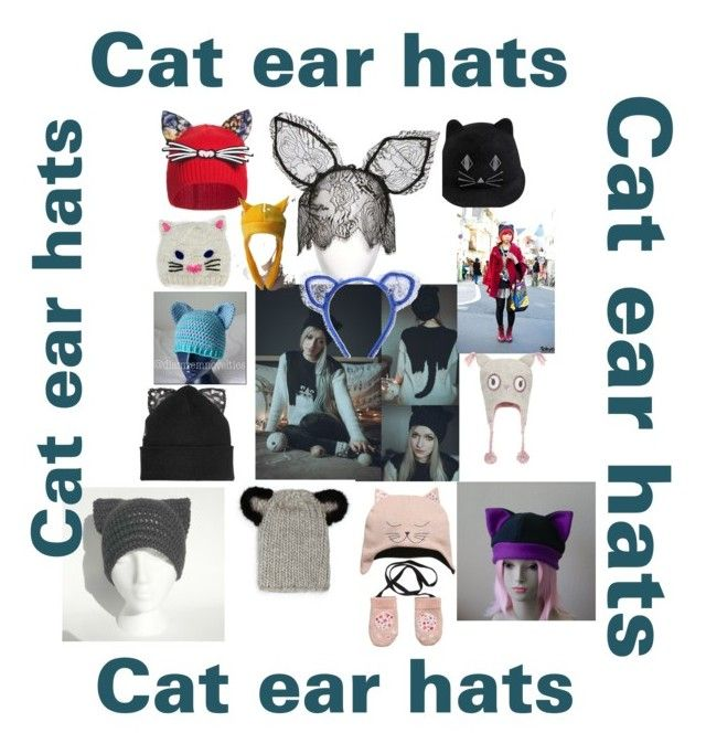 """Cat ears"" by suzinjersey on Polyvore"