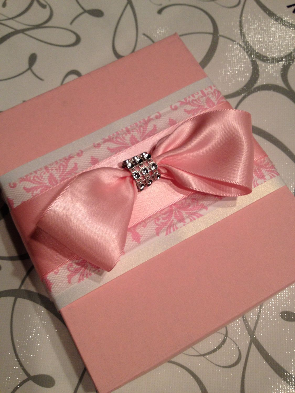 Pinky Box - Embellished Invitation Box Mix and Match Colors of Your ...
