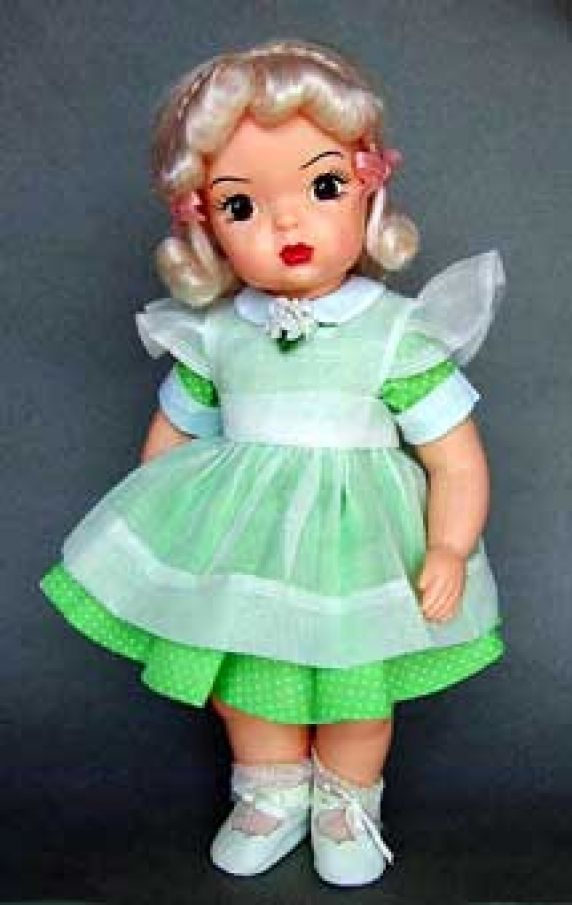 "Pattern for Terri Lee, 16"" doll clothes 