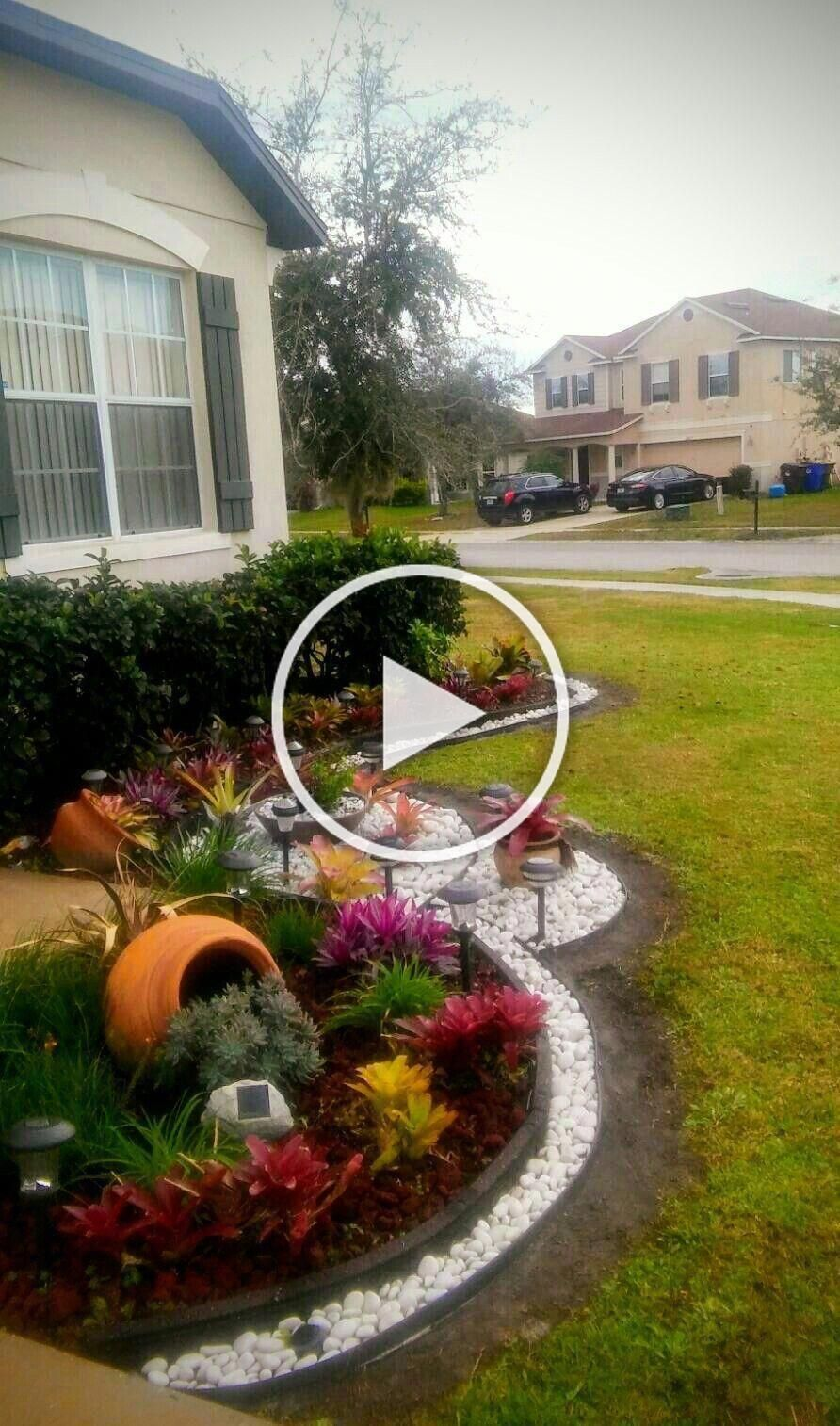Stunning Front Yard Landscaping Ideas Can Make Your Residence A Lot More Attractive And Also Improve The Jardines Bonitos Jardines Rusticos Jardines Verticales