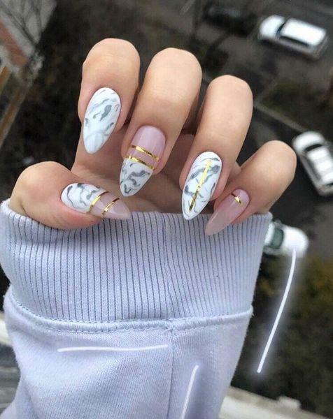 Pretty Matte Nail Art Designs Ideas Spring 2019 04 With Images Almond Nails Designs Matte Nails Design Perfect Nails