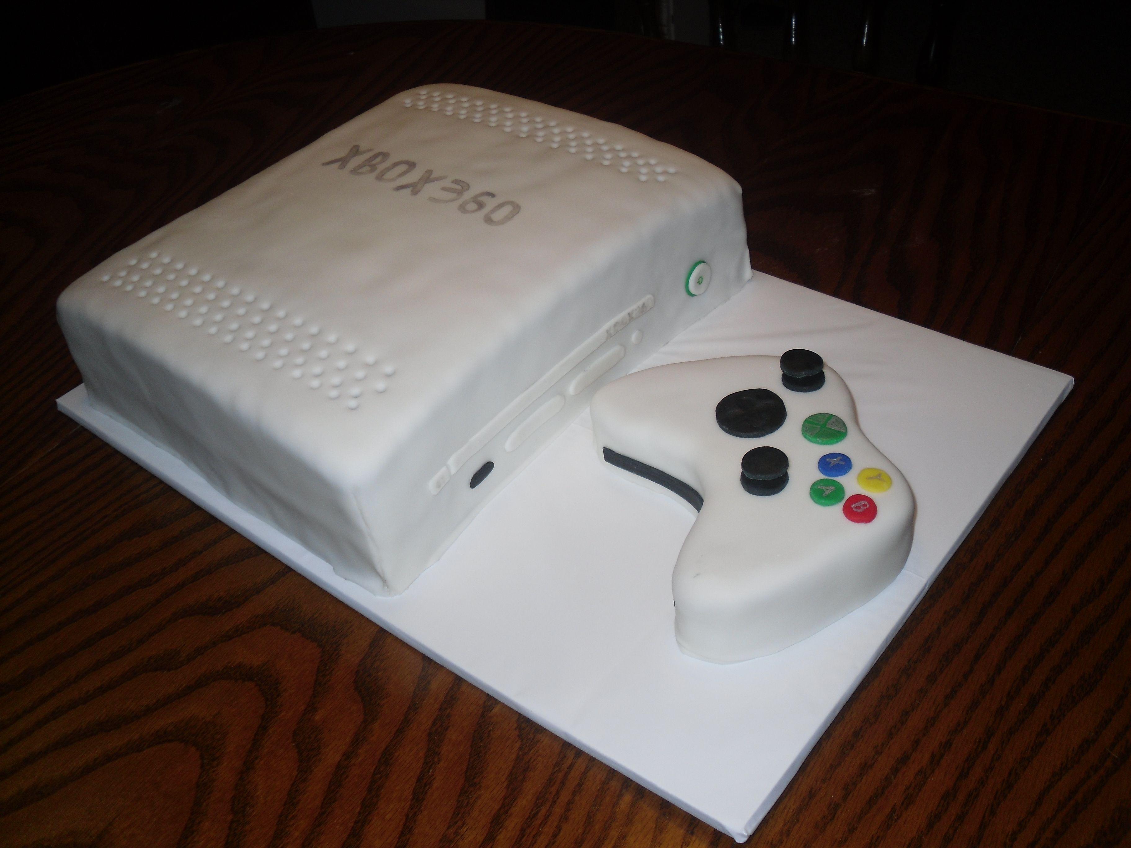 XBox Birthday Cake For Goodness Cakes