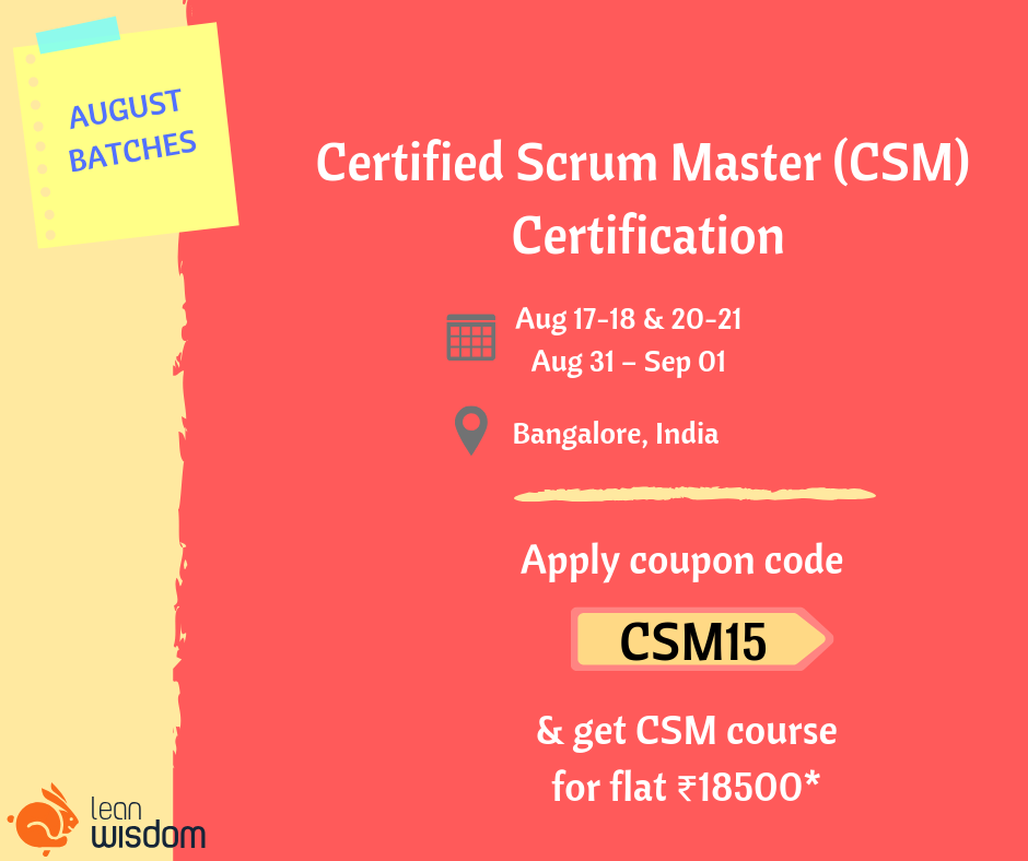 A Scrum Master plays a crucial role in the growth of the