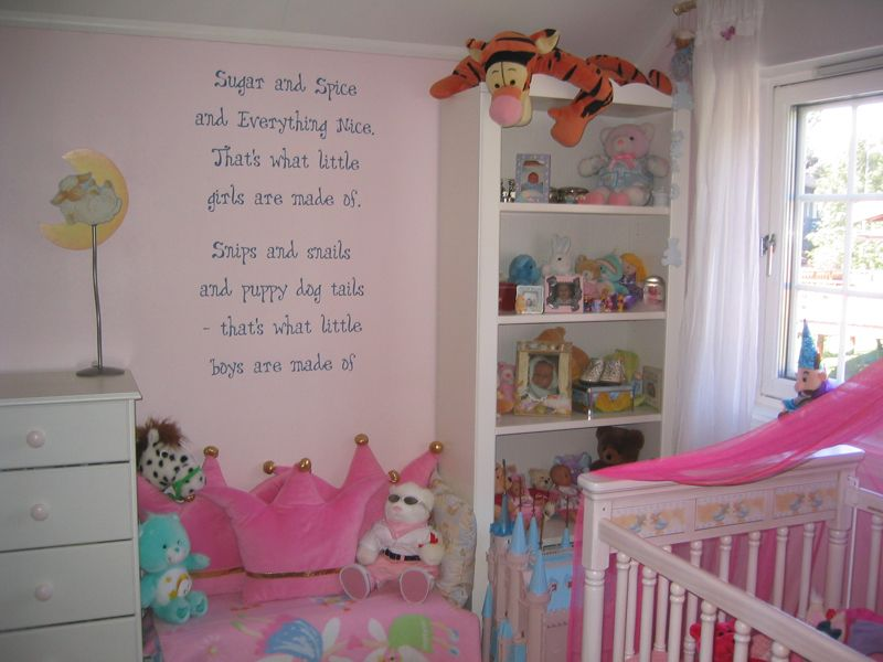 Little Boy\'s and Girl\'s Room Wall Lettering & Decorating ...
