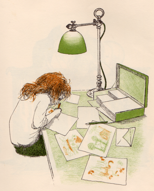 littlechien:  littlechien via illustratedladies illustratedladies:  Erik Blegvad.