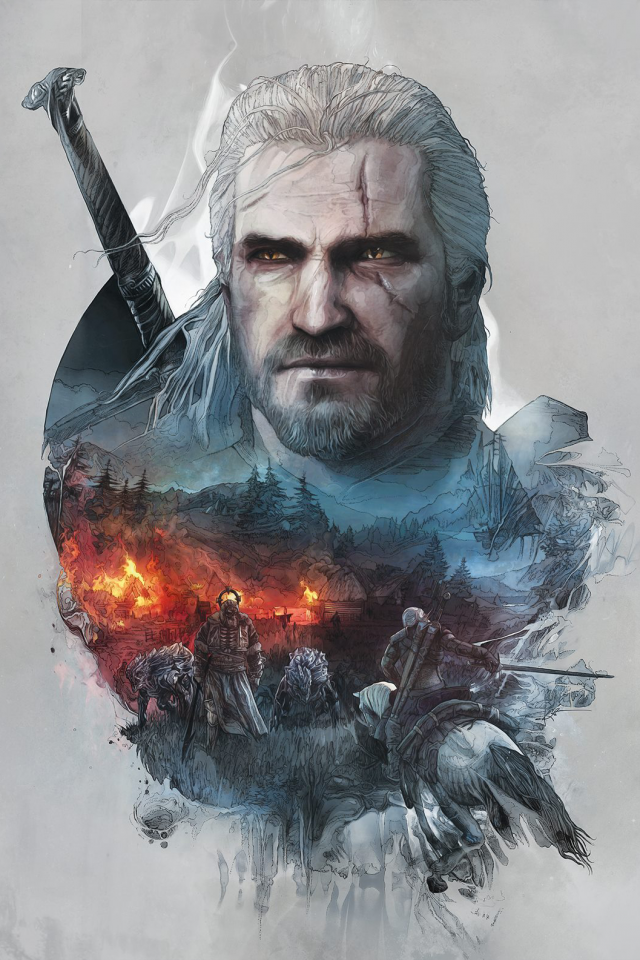 Video Game The Witcher 3 Wild Hunt The Witcher Geralt Of Rivia Mobile Wallpaper The Witcher Game The Witcher Wild Hunt The Witcher