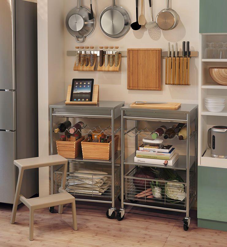 Encantador Cocina Despensa Unidades Ikea Adorno - Ideas para ...