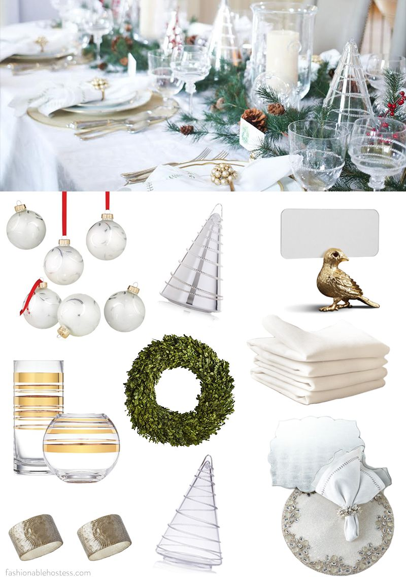 Shop for your Christmas Table - Fashionable Hostess | Fashionable Hostess