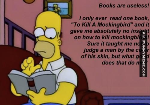 Funny meme quote : Funny memes to kill a mockingbird useful to kill a