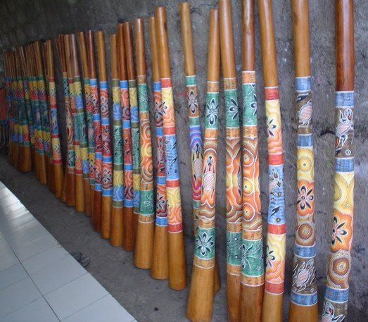Bamboo Craft Projects Painted Bamboo Sticks Painted Bamboo