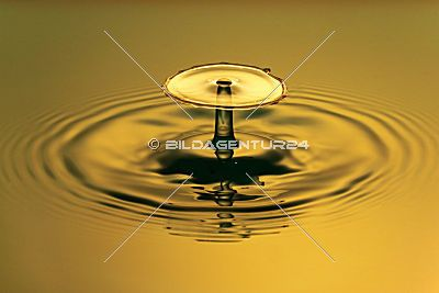 Highspeedaufnahme Wassertropfen