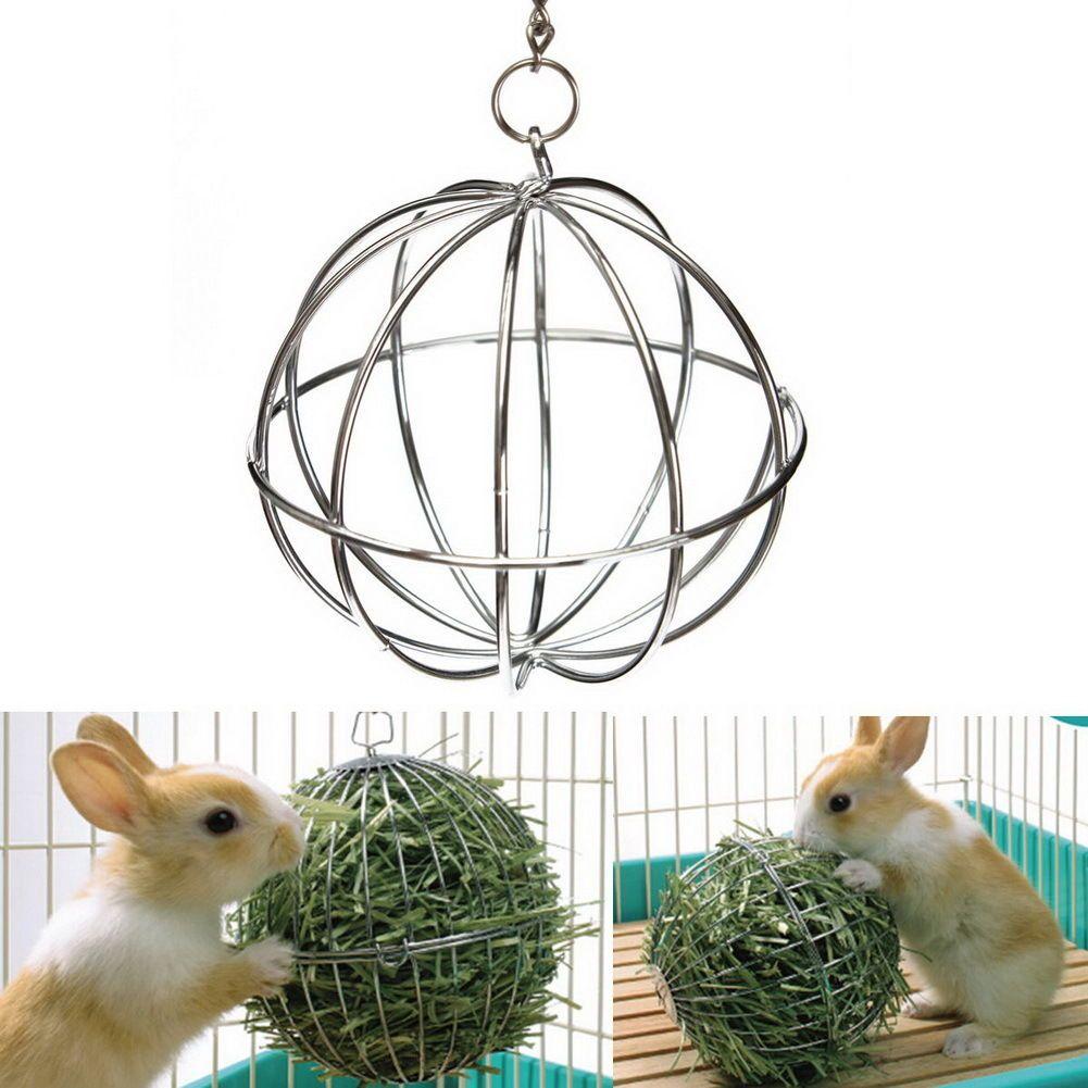 $2.56 - 2 Sizes Sphere Treat Ball Guinea Pig Hamster Rat Rabbit Feed ...