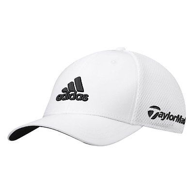 eb2cecdacec34 New Adidas Golf Tour Fitted TaylorMade Mesh Back Hat - Pick Size   Color