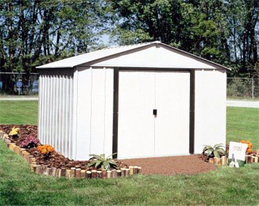 Arrow Arlington 10 X 8 Outdoor Storage Shed Ar108 Steel Storage Sheds Outdoor Storage Sheds Metal Storage Sheds