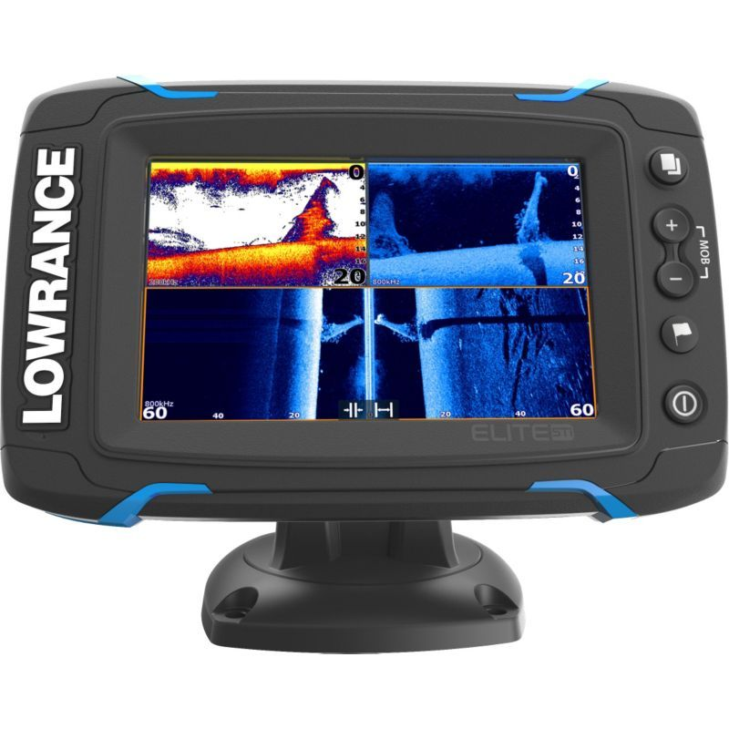 Lowrance Elite5 Ti Fish Finder/Chartplotter Combo with