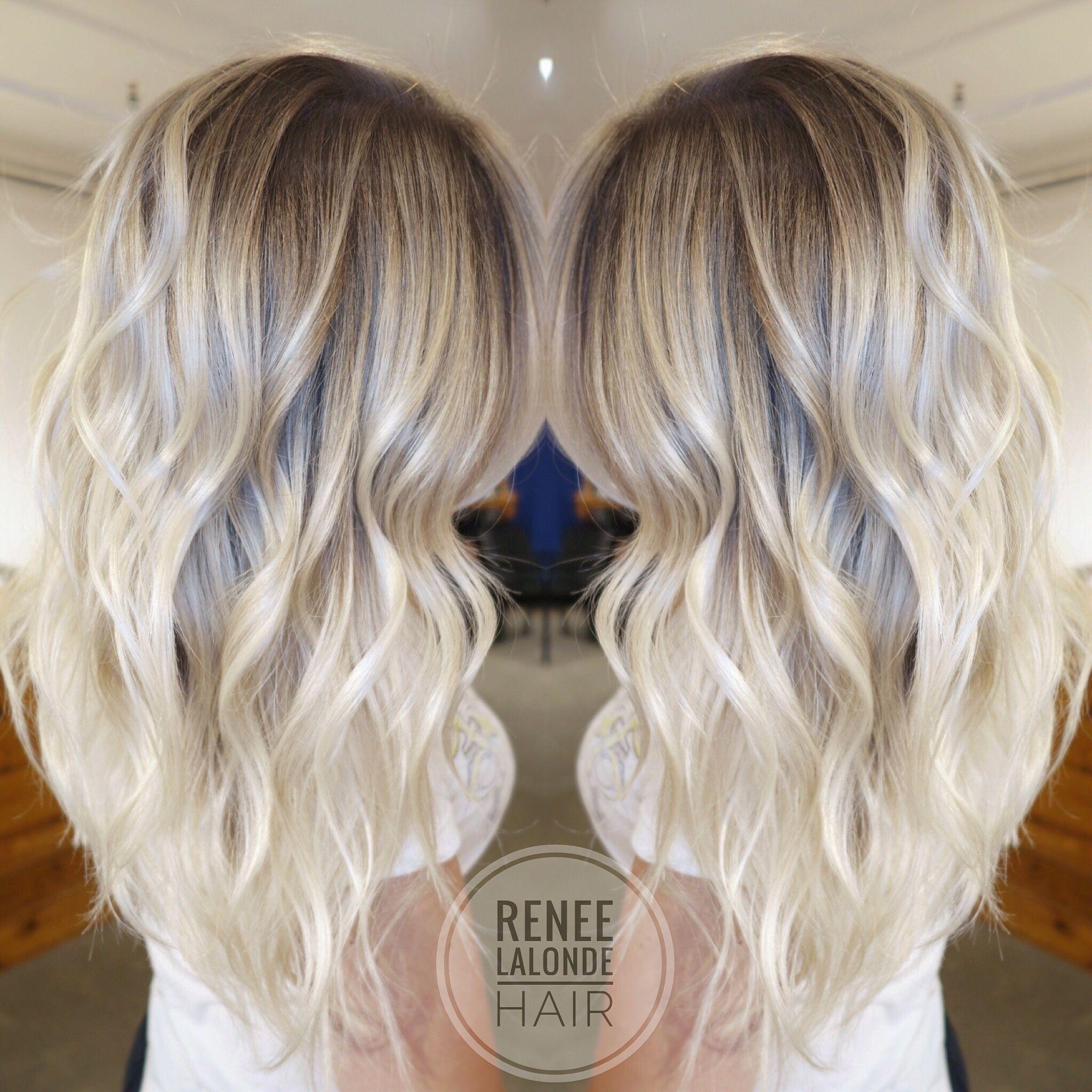 Maisieleblanc couleur pinterest balayage long hair blonde