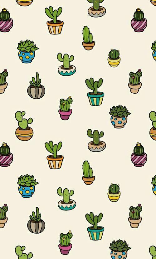 Картинки милых кактусов на клавиатуре отличать