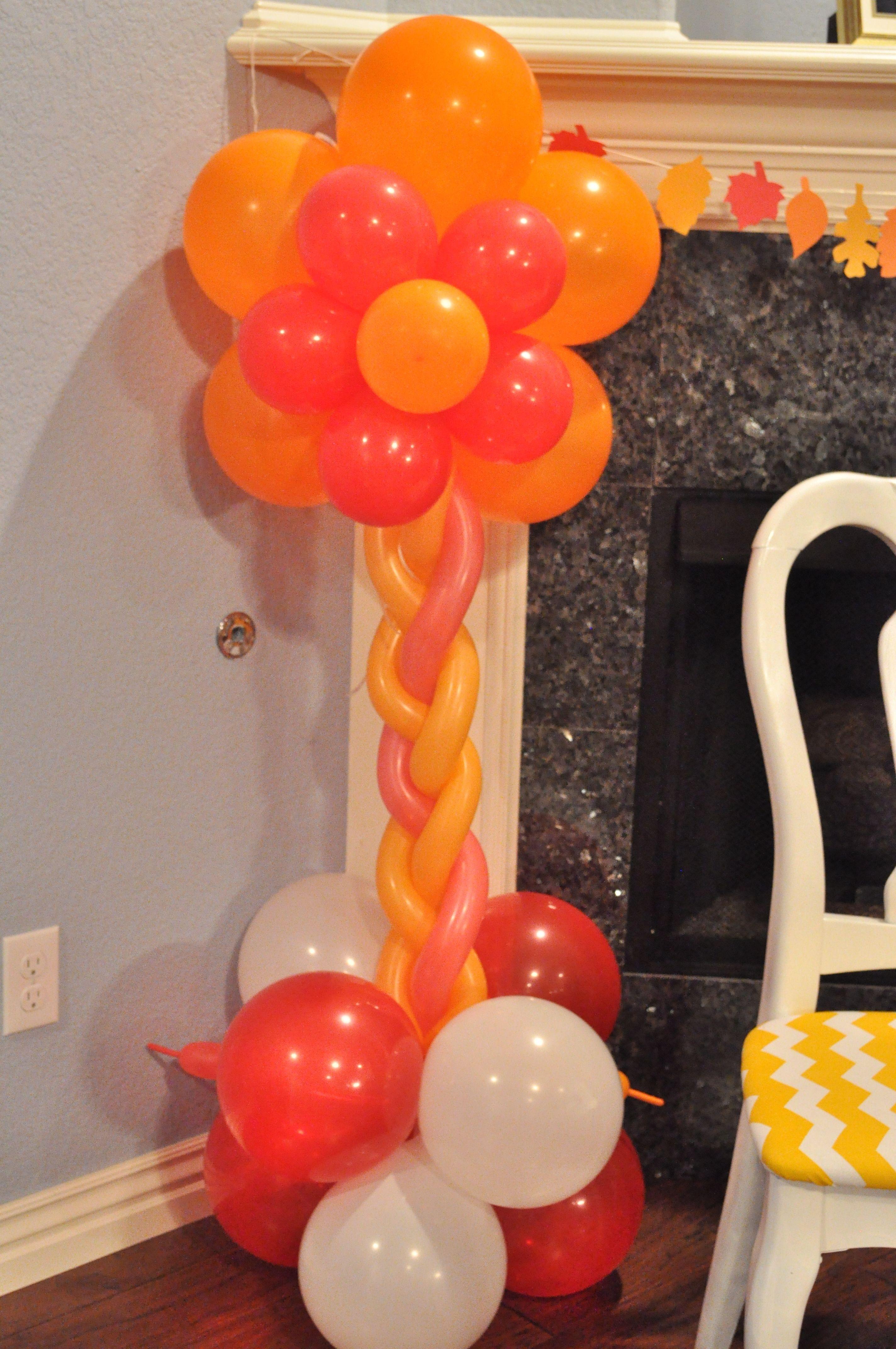 Wedding decoration ideas balloons  Fall Theme  Balloons  DIY Wedding Decorations  Pinterest  More