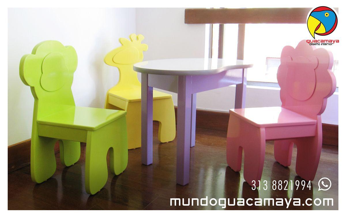 Mesita de trabajo infantil con sillas la superficie es de - Mesita con sillas infantiles ...