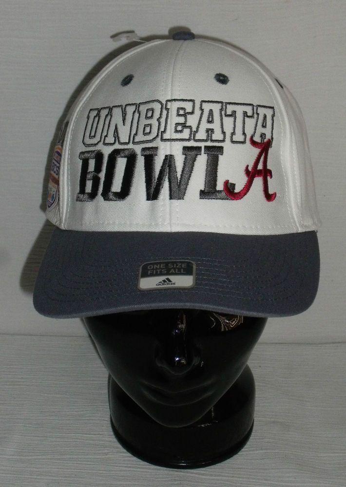 BCS National Championship Hat ALABAMA 2013 NEW Adidas Superflex  adidas   Alabama ce9cb8aead8