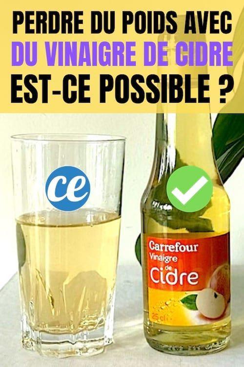 Perdre Du Poids Avec Du Vinaigre De Cidre, Est-Ce Possible