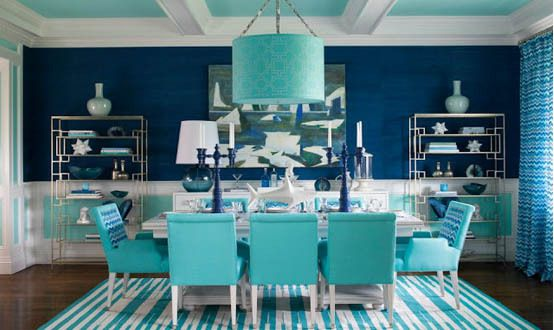 Take a Look at These Beautiful Navy And Turquoise Bedroom Photos ...
