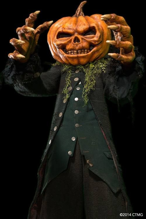 Brokehorrorfan Special Makeup Effects Artist Jamie Kelman Posted This Image Of His Creation From The Upcoming G Goosebumps Costume Jack O Lantern Goosebumps