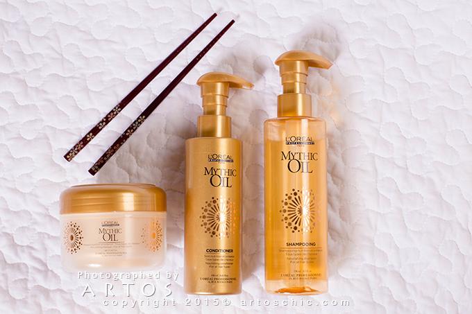L Oreal Professionnel Mythic Oil تجربتي مع مجموعة Mythic Oil من لوريال بروفيشنال للعناية بالشعر حيلة لإستخدام البلسم للشعر الد Oil Shampoo Beauty Skin Oils