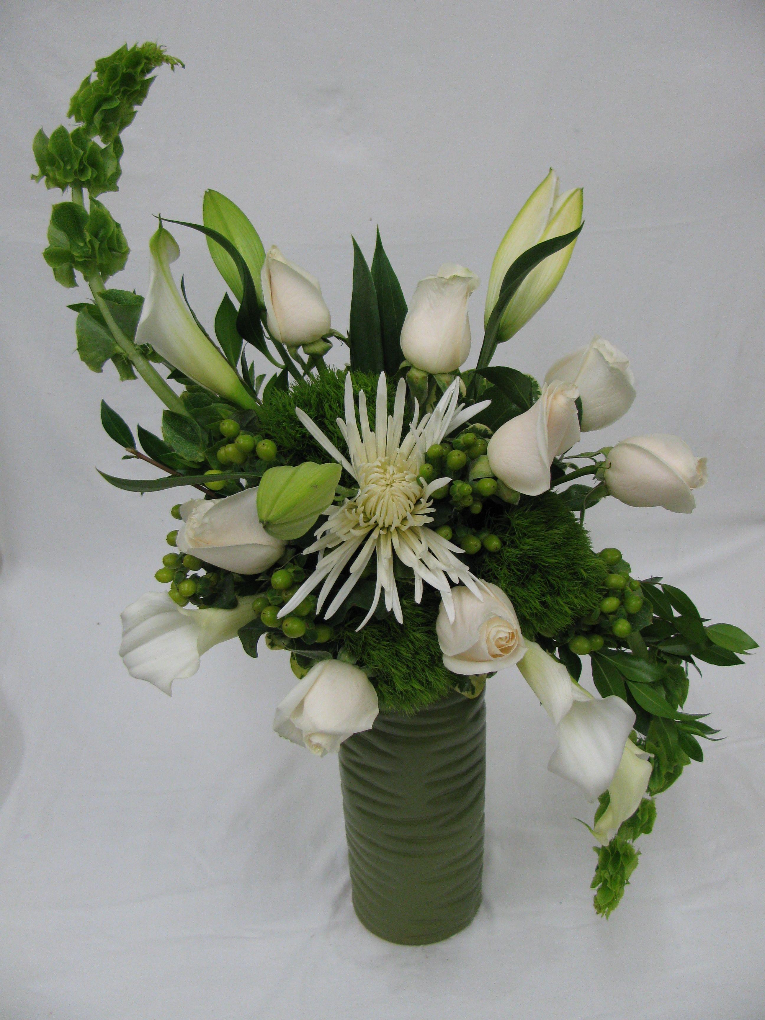 Hogarth Curve Flower Arrangement | curves | Large flower ...