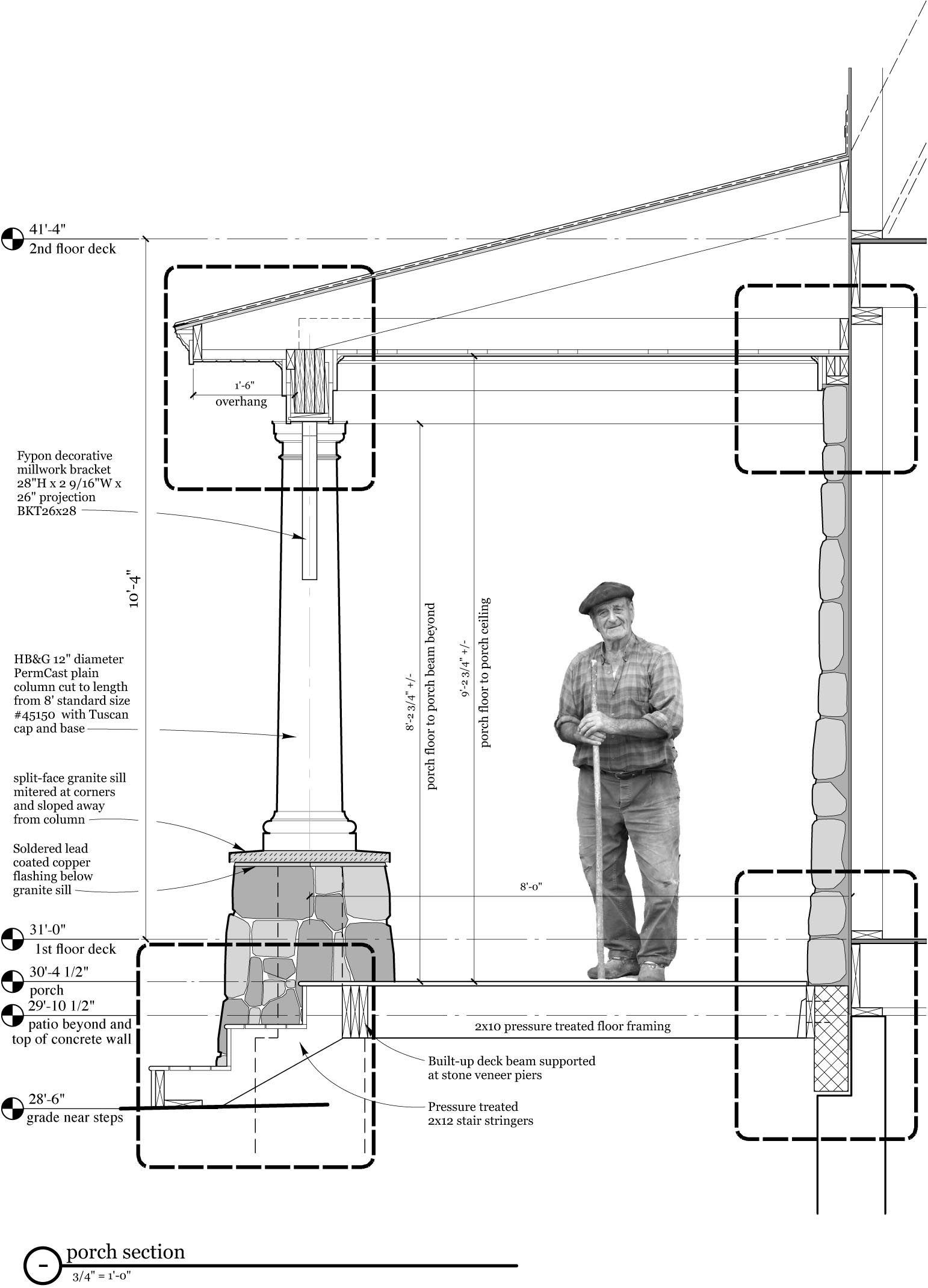 Framing Porch Diagrams