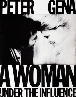 A Woman Under The Influence 1974 U S Poster Posteritati Movie Poster Gallery New York Movie Posters John Cassavetes Under The Influence