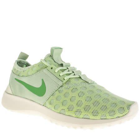 Femmes Nike Vert Trainers Juvénat Chaussures