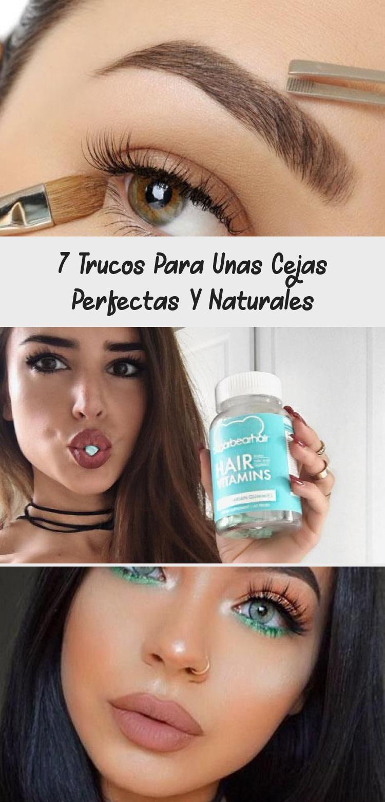 7 Trucos Para Unas Cejas Perfectas Y Naturales Eyebrows