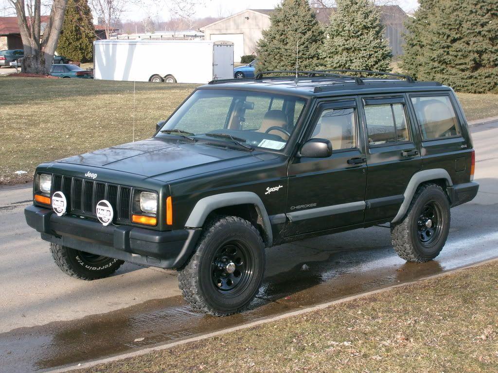 235 75 15 No Lift Jeep Cherokee Xj Jeep Xj Jeep Cherokee