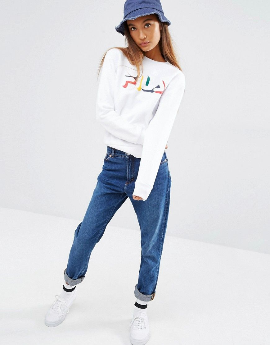 image 4 fila sweat logo multicolore et ruban fila pinterest rubans images et jolies. Black Bedroom Furniture Sets. Home Design Ideas