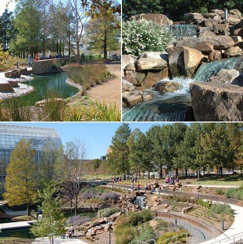 The Myriad Botanical Gardens In Downtown Oklahoma City Recently Underwent  Major Renovations. Itu0027s Beautiful!