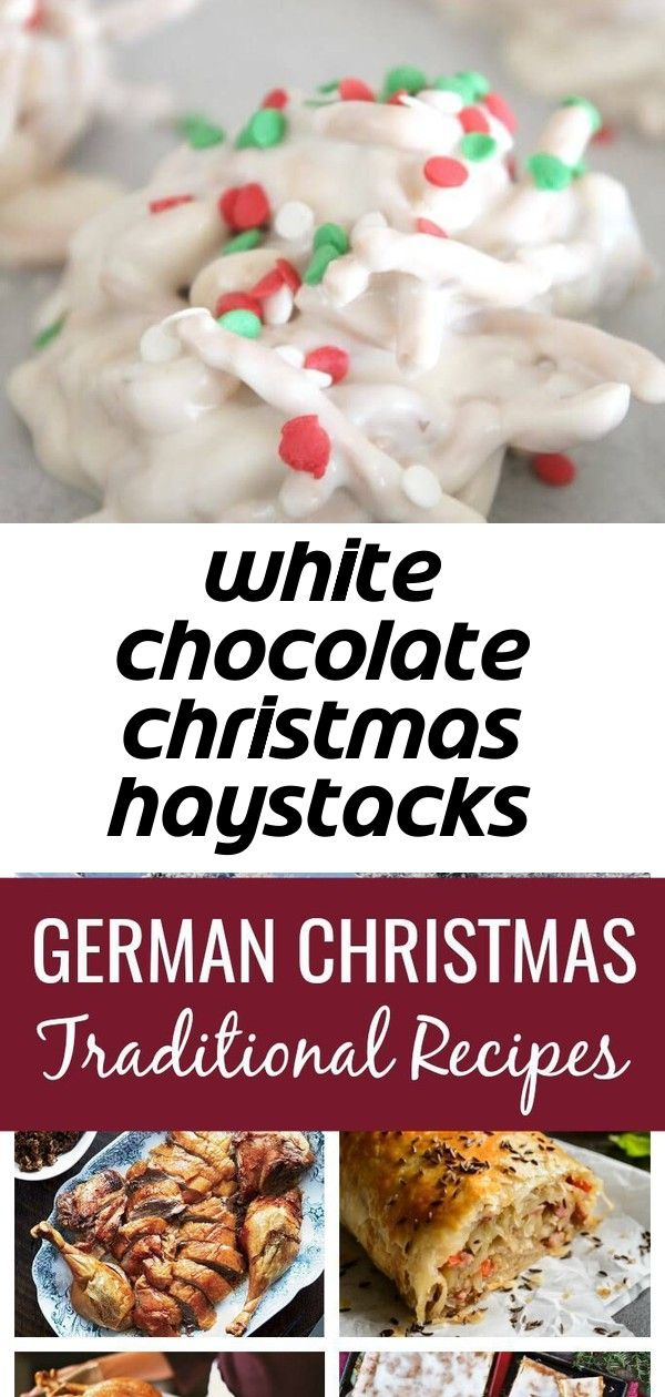 White chocolate christmas haystacks recipe 1 #grinchpunchrecipe