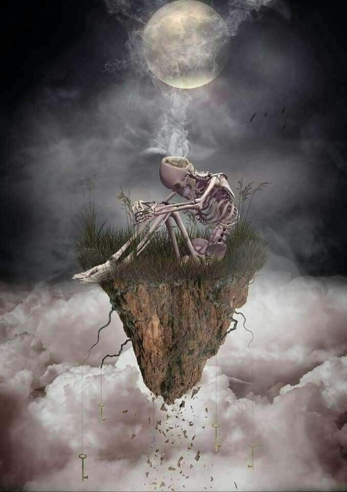 Pin by Amber Hiller on Skulls, Grim Reapers, Etc... | Art of dan, Beautiful  dark art, Art