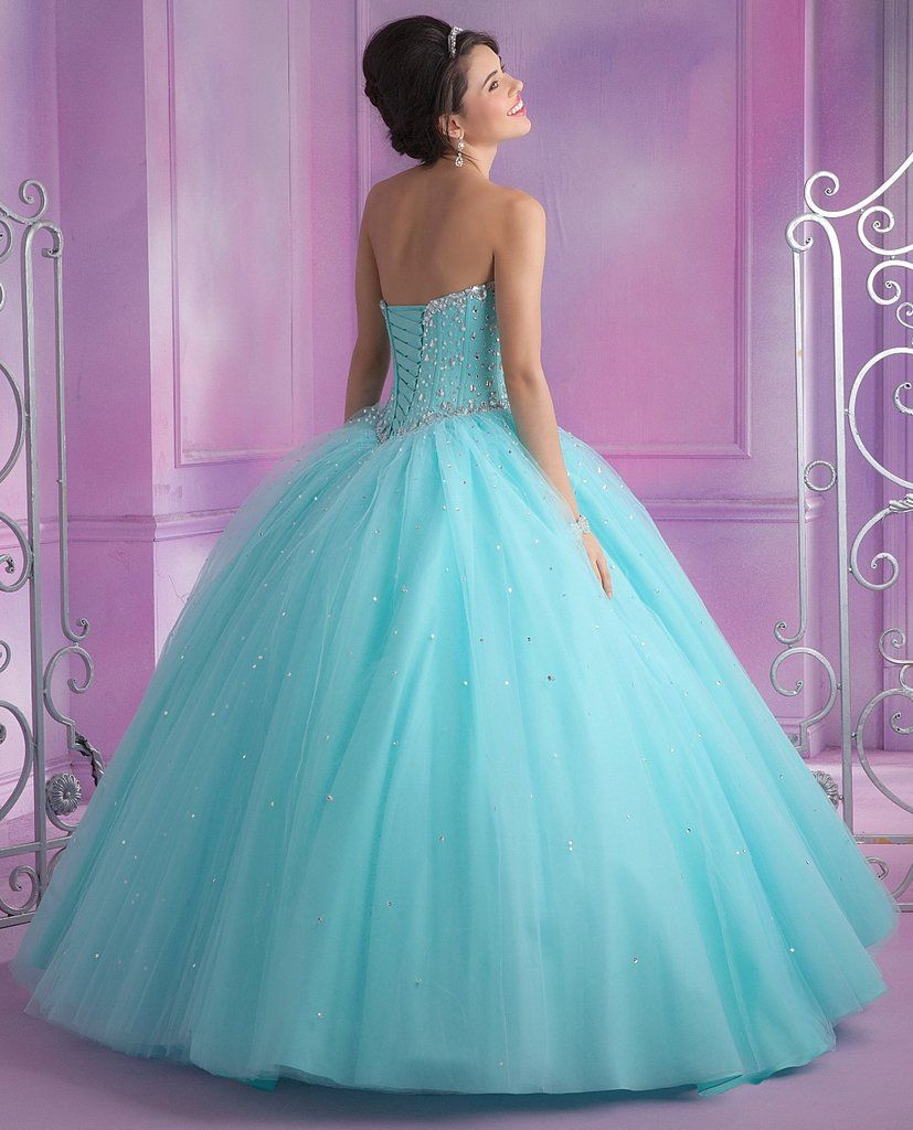 Strapless Sweetheart Quinceanera Dress By Mori Lee Vizcaya