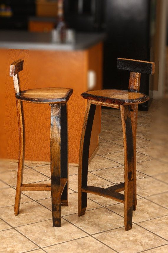 Kentucky Bourbon Barrel Stool