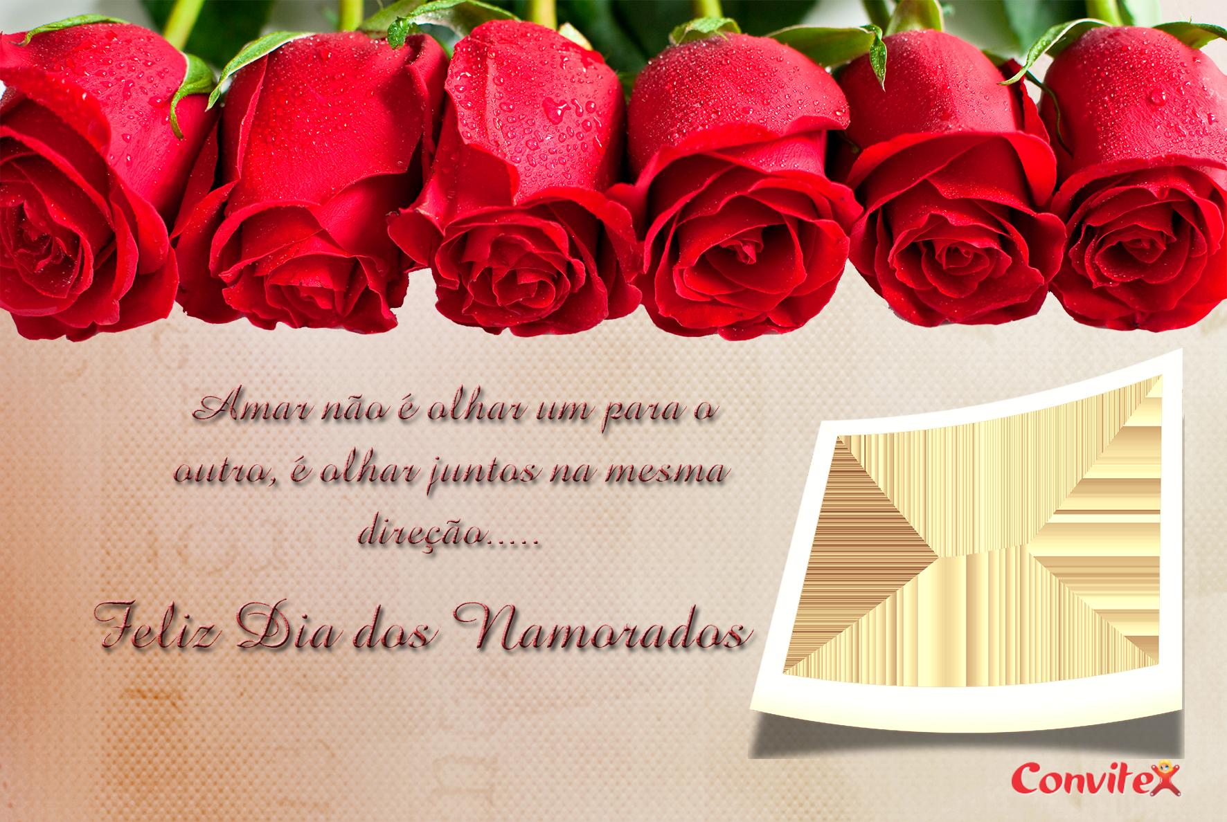 Cartão Frame Dia dos Namorados!