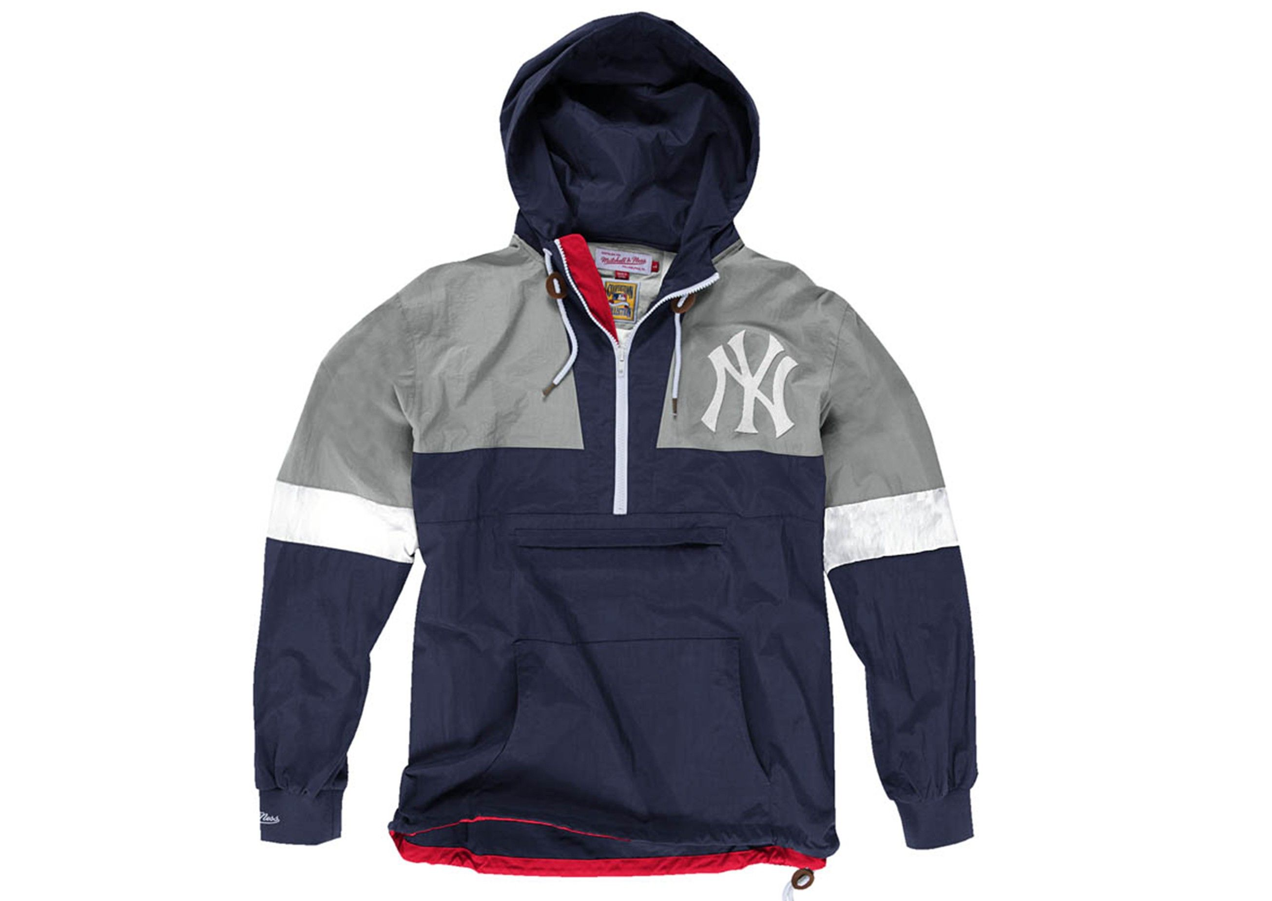 Half Zip Windbreaker New York Yankees - Mitchell   Ness  309a1a808