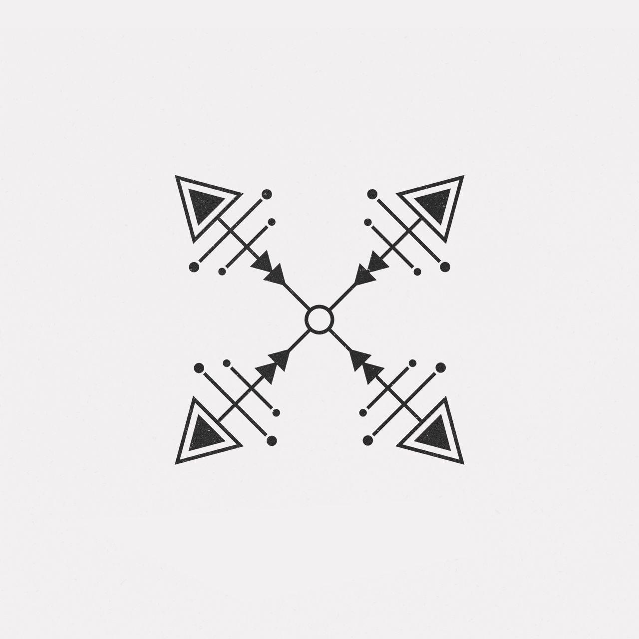 Daily Minimal || #JU16-613 || A new geometric design every day. | All | Tattoo designs, Tattoos ...