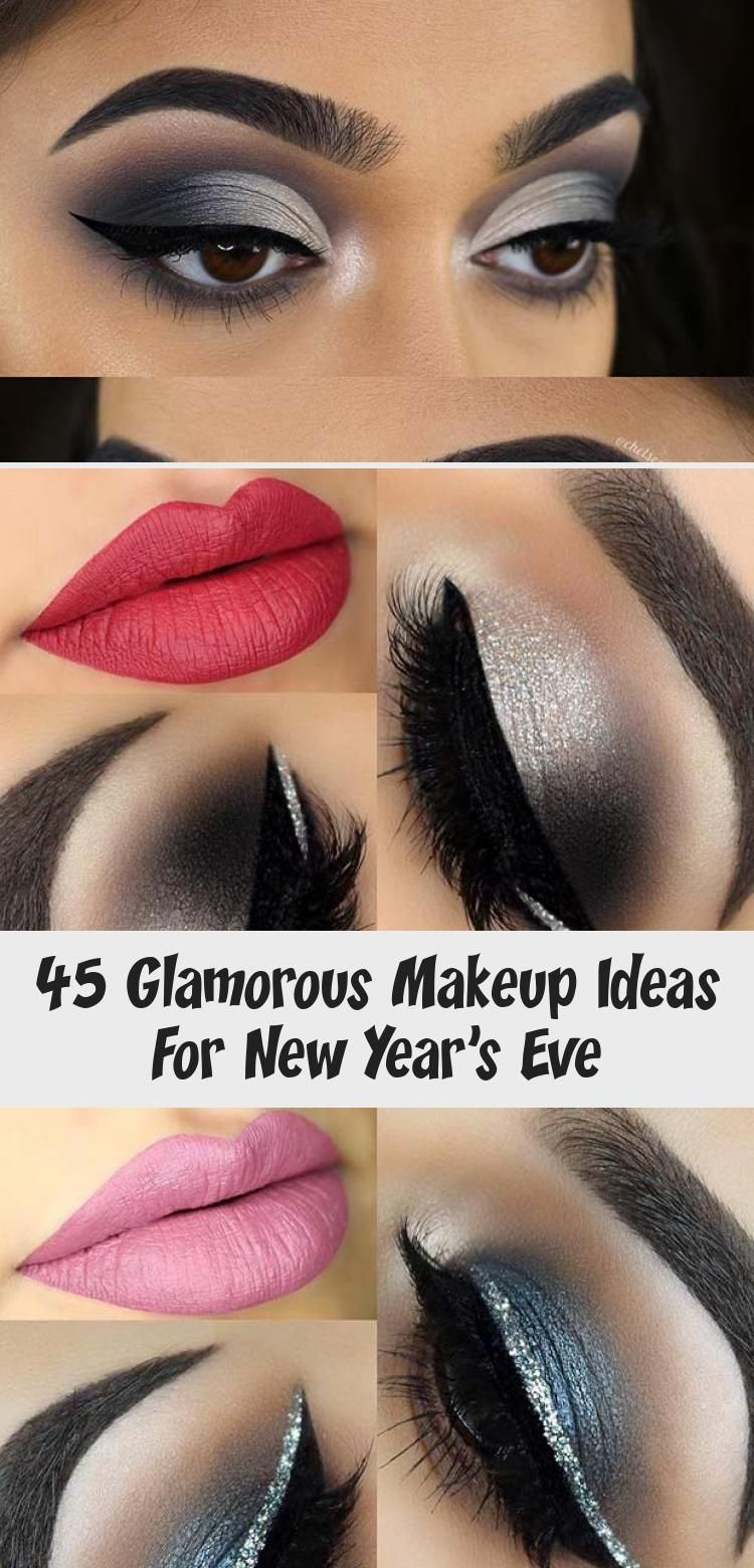 Photo of 45 Glamorous Makeup Ideas For New Year's Eve